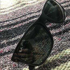 Ray Ban Polarized Original Wayfarer Sun Black